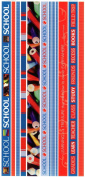 School Photo Banner Ribbon Border Scrapbook Stickers