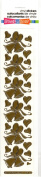 Wedding Bells Gold Class A'Peels Scrapbook Stickers