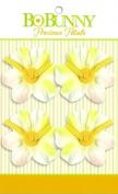 Bo Bunny Precious Petals Fabric Flowers-Soft White Blossom