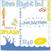 Karen Foster Design 12x12 Rub Ons-Splash