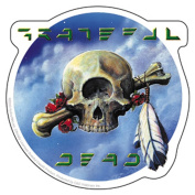 The Grateful Dead Cyclops Skull Sticker