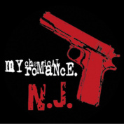 Licences Products My Chemical Romance Pistol Sticker
