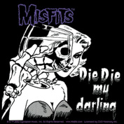 The Misfits Die Die My Darling Sticker