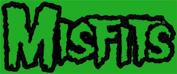 The Misfits Green Logo Sticker