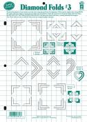 Hot Off The Press - Diamond Folds #3 Template