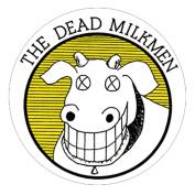 Dead Milkmen Logo Sticker