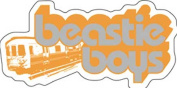 Beastie Boys Train Sticker