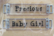 All My Memories Expressions - Precious/Baby Girl Crystal Ribbon Slides