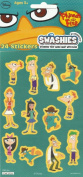 PHINEAS AND FERR STICKERS SWASHIES (1 PACK - 24 STICKERS) STICKERS THAT WASH AWAY WITH EASE