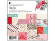 BasicGrey True Love Collection Scrapbook Paper Pad, 15cm by 15cm