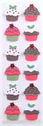 Martha Stewart Crafts Cottage Christmas Cupcake Sticker