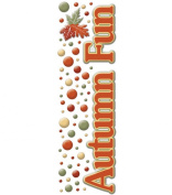 Cloud 9 Rain Dot Dimensional Epoxy Stickers - Autumn Fun