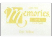 Stewart Superior Memories Dye Ink Pad - Soft Yellow