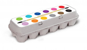 Box Play for Kids Paint Palette Egg Carton Stickers