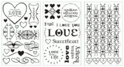 Around the Block Foil Transfer Kit - Create Foil Stamps without Heat! - Love