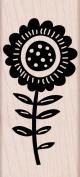 Hero Arts Big Bold Flower Woodblock Decorative Stamp