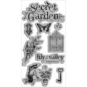 Hampton Art Graphic 45 Secret Garden 1 Cling Stamp