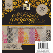 Die Cuts With A View Elegant Foil Stack, 15cm by 15cm