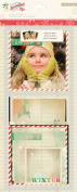 Crate Paper Bundled Up Photo Overlays Winter Scrapbook Embellishments
