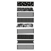 """Texture Clear Stamps 2""""X5"""" (5cm X 13cm)-Decorative Tape Pieces"""