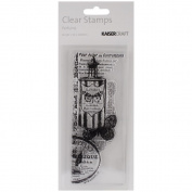 """Texture Clear Stamps 2""""X5"""" (5cm X 13cm)-Perfume"""
