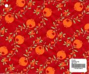 GRENADINE - Pomegranate print mulberry paper