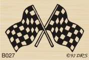 Racing Flags Rubber Stamp By DRS Designs