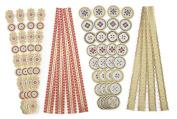 Martha Stewart Crafts Adhesive Die-Cut Borders, Heirloom Foil