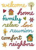Family Time Epoxy Scrapbook Stickers