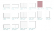 Lifestyle Crafts Letterpress Paper, Mini Fold Cream, 25 Sheets