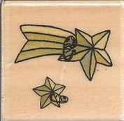 Shooting Stars Boyds Collection Wood Mounted Rubber Stamp