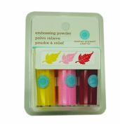 Martha Stewart Crafts Embossing Powders, Pastel, 3-Pack
