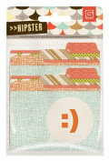BasicGrey Hipster Collection Printed Chipboard Shapes