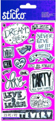 Sticko Scrapbooking Stickers, Teen Chat