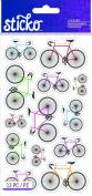 Sticko Scrapbooking Stickers, Colourful Bicycles