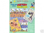 8.5x11 Every Day w/ Mickey & Friends Paper Book
