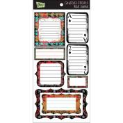 Glitz Design Rebel Cardstock Stickers