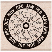 Hero Arts Mounted Rubber Stamps 4.4cm x 4.4cm -Calendar