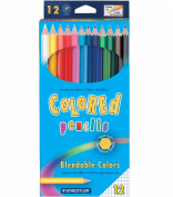 Coloured Pencils 12/Pkg