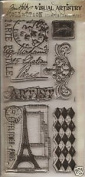 TIM HOLTZ - Visual Artistry Collection Stampers Anonymous Clear Stamps - French Market