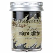 Stampendous Micro Glitter .1860ml-Black