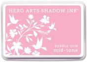 Hero Arts Midtone Ink Pads-Bubble Gum
