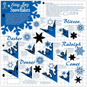 Hot Off The Press Templates 30cm x 30cm -Easy Lacy Snowflakes