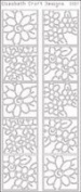 Elizabeth Craft Designs Daisies in Frame, Black