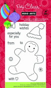 Hero Arts Rubber Stamps Gingerbread Wishes Clear Stamp Set