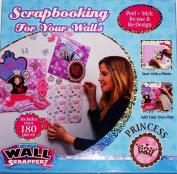 PRINCESS WALL SCRAPPERZ Decor Photo Album Scrapbook