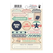 Trend Setter Label Stickers-