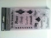 TPC Studio Christmas Treasures Clear Stamps