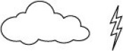 Memory Box Cling Stamp-Storm Cloud Combo