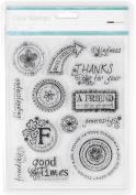 Kaisercraft Friends Clear Stamps
